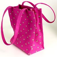 Hot Pink Tote Purse by Sunny Hawaii Palm Trees Fuchsia Shopping Bag Shoulder