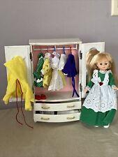 Vintage Vogue Ginny Doll Furniture Wardrobe & Doll by Vogue Plus Accessories
