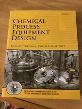 Chemical Process Equipment Design by Richard Turton and Joseph A. Shaeiwitz Pb