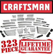 Sears Craftsman 323 pc Mechanics Tool Set #17155 Sockets Ratcheting Wrenches 311