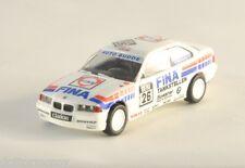 HERPA BMW 325i Rally bianco FINA modello auto Plastico diorama scala H0 1:87