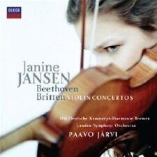 """Janine Jansen """"Beethoven & Britten Violin Concertos"""" CD"""