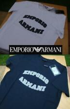 ARMANI Short Sleeve 100% Cotton T-Shirts for Men