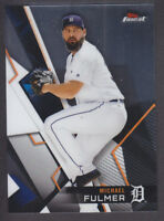 Topps - Finest 2018 - Base # 68 Michael Fulmer - Detroit Tigers