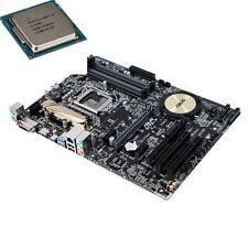 Asus Z170-P Motherboard + Intel i5 6500 Processor + Heatsink & Fan