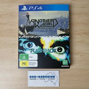 Another World 20th Anniversary Edition + Flashback - NEW - PS4 PlayStation 4 PAL