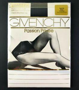 Vintage Givenchy Control Top Pantyhose Passion Privee Size A Color Le Jet Black