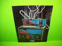 Rock Ola Model 464 Original 1976 Phonograph Music Jukebox Promo Flyer Foldout