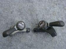1 Paar Deore XT Daumenschalthebel thumb shifters Original Shimano 3x6 gebrauch