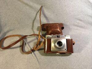 Agfa Silette Pronto + Apotar 45 / 3,5; Kleinbildkamera + Tragetasche