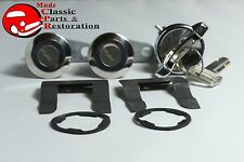 73-76 Ford Mustang Ignition Door Lock Cylinder Set After 5/14/73