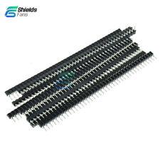 10PCS Breakable Strip Tin PCB 40Pin Single Row Round Header Female IC Socket