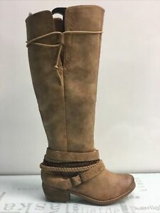 Not Rated Jurupa Faux Leather Riding Boots, Women's Size 6.5M.✨