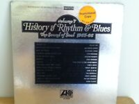 HISTORY   OF  RHYTHM   &  BLUES    LP   THE  SOUND OF SOUL 1965 - 1966 ( PROMO