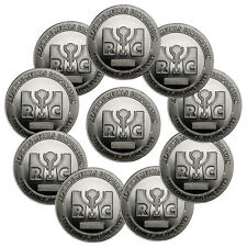 Republic Metals Corporation (RMC) 1 Oz Silver Round (Lot of 10) SKU40772