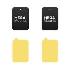 Mega Mounts ® Adhesivo de reemplazo de Repuesto placas Magnético teléfono móvil titulares
