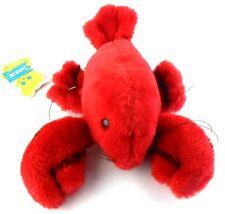 Dakin Bean Bags THERMIDOR Red Lobster 28-1108 1979 Vtg Nut Shell Fill Korea Tags