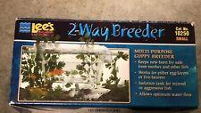 2 Way Aquarium Guppy Fish Breeder Fry Divider/Isolation Tank Lee's