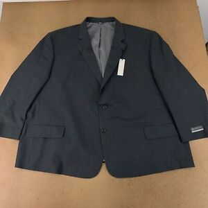 Gold Series Perfect Fit Men's 64 Regular Charcoal Jacket-Relaxer Suit Jacket NWT