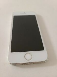 Apple iPhone 5s - 16GB - Silver (AT&T) A1533 (CDMA + GSM)