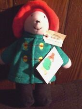 New With Tag Eden Paddington Bear Plush Aprroximately 9 Inches