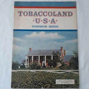 Tobaccoland Book Vintage  USA Fourteenth Edition Liggett Meyers Tabacco Company