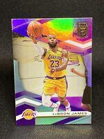 2019-20 Panini Donruss Elite Basketball Lebron James #87 Lakers