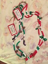 Rhythm Horse Necklace Beads Christmas 2 Sets
