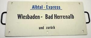 """""""Albtal-Express"""" Wiesbaden - Bad Herrenalb und zurück - Rückseite: 050 210-3  10"""