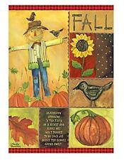 Lang Co. - Fall Scarecrow mini garden flag - #Lg-Gf-016