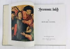 Hieronymus Bosch by Howard Daniel, Hyperion Press, New York 1947 Book Art Vtg