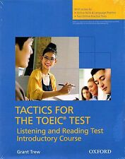 OXFORD Tactics for TOEIC Listening and Reading Test Pack Introductory Course NEW