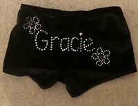 Girls personalised gymnastics/dance shorts - Gracie