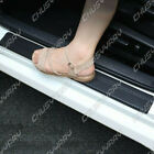 Accessories Car Interior Door Sill Scuff Cover Carbon Fiber Vinyl Wrap Sticker