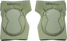 MILITARY NEOPRENE KNEE PADS OLIVE GREEN AIRSOFT PAINTBALL ARMY