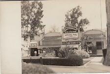 Vintage Real Photo Postcard Curley Robinson The Big Little Store Studio Inn Cafe