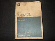 CAT CATERPILLAR 225 EXCAVATOR PARTS BOOK MANUAL S/N 76U1200-2728