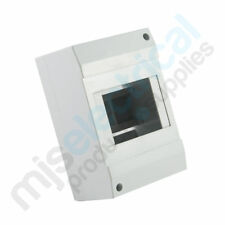 4 Pole Cover / Enclosure for Meter Box MCB RCD Switchboard Circuit Breakers NEW