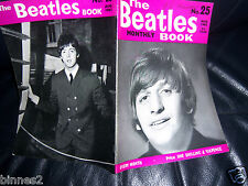 ORIGINAL AUGUST 1965 -The Beatles Monthly Book No 25 NEAR MINT CONDITION !