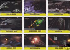 STAR TREK 1998 SKYBOX VOYAGER PROFILES ALIEN TECHNOLOGY INSERT SET AT1-AT9 (9)