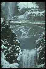 697061 pont hiver chutes de Multnomah OREGON USA A4 papier photo