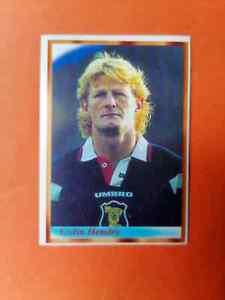 Colin Hendry SCOTLAND World Cup 98 BONART