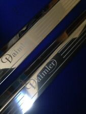 Daimler XJ Coupe  Door Sills Tread Plates Stainless Steel Etched Logo
