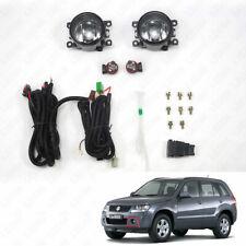 Clear Lens Bumper Fog Driving Light For 06-14 Suzuki GRAND VITARA w/Switch Bulbs