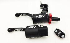 ASV F3 Shorty Black Holiday Pro Pack Adjustable Clutch Brake Lever Hot Start RMZ