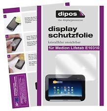 2x Medion Lifetab E10310 Aldi Schutzfolie klar Displayschutzfolie Folie dipos