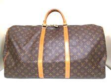 Authentic LOUIS VUITTON Monogram Keepall 60 M41422 Boston Bag VI0992