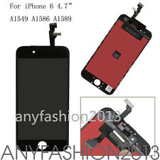 "LCD Assembly Touch Screen Digitizer Glass for iPhone 6 4.7"" Black Replacement"