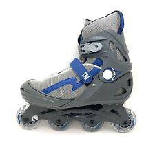 New listing True Inline Skates Trauerse ABEC 3 Gray Adult Men's Size 9 Women's Size 11