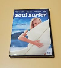 Soul Surfer (DVD, 2011) Helen Hunt Carrie Underwood Dennis Quaid Free Ship New